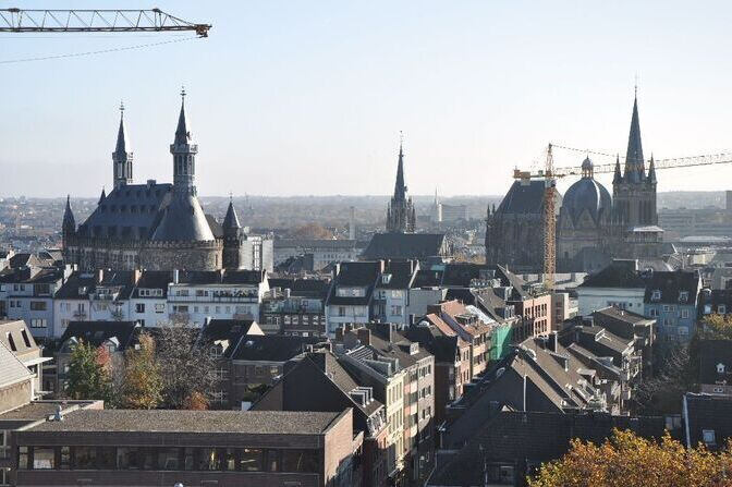 Picture of Aachen's old town